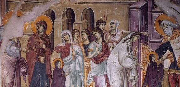 Dedicarea Fecioarei Maria în slujba Templului