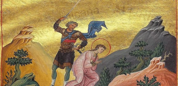 Sfânta Varvara: frumuseţea feminină demnă