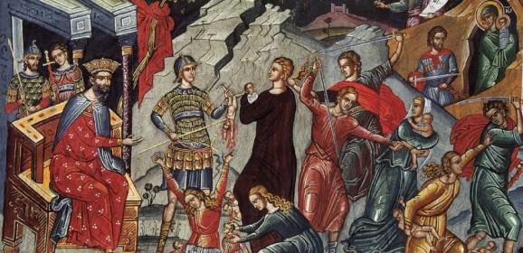 Cei 14.000 de prunci victime ale vanităţii lui Irod cel Mare