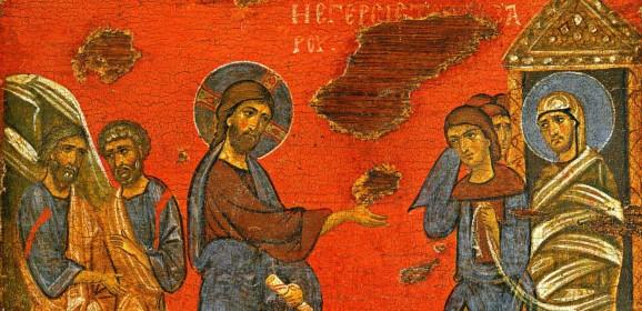 Sâmbăta lui Lazăr şi Floriile – prefigurarea Învierii Domnului Hristos