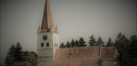 Biserica evanghelică fortificată din Cincu, județul Brașov