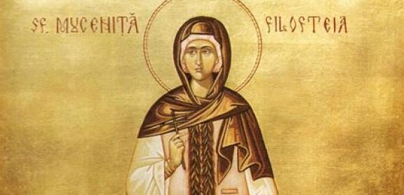 Filoteea: copila iubitoare de Dumnezeu și de oameni