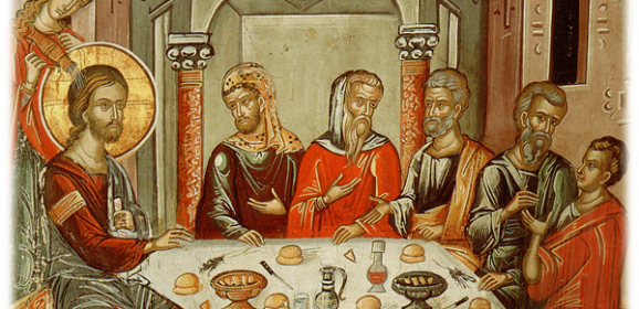 Sfânta şi Marea Miercuri – pomenirea femeii care a uns cu mir pe Domnul Hristos, în Betania; vânzarea lui Iisus de către Iuda