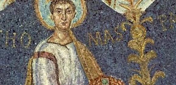 Mărturisirea evidenţei: Sfântul Apostol Toma